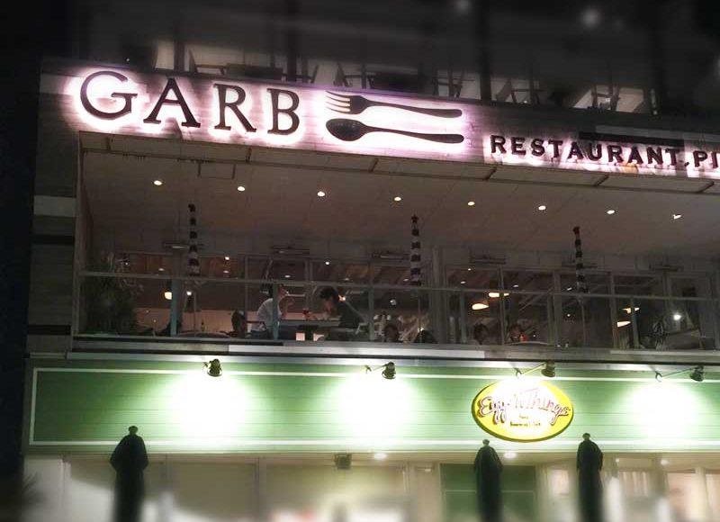 【江ノ島デートのディナーは予約可能なGARB】エッグスンシングス上の海見えイタリアン!おしゃれでムーディー雰囲気よし!