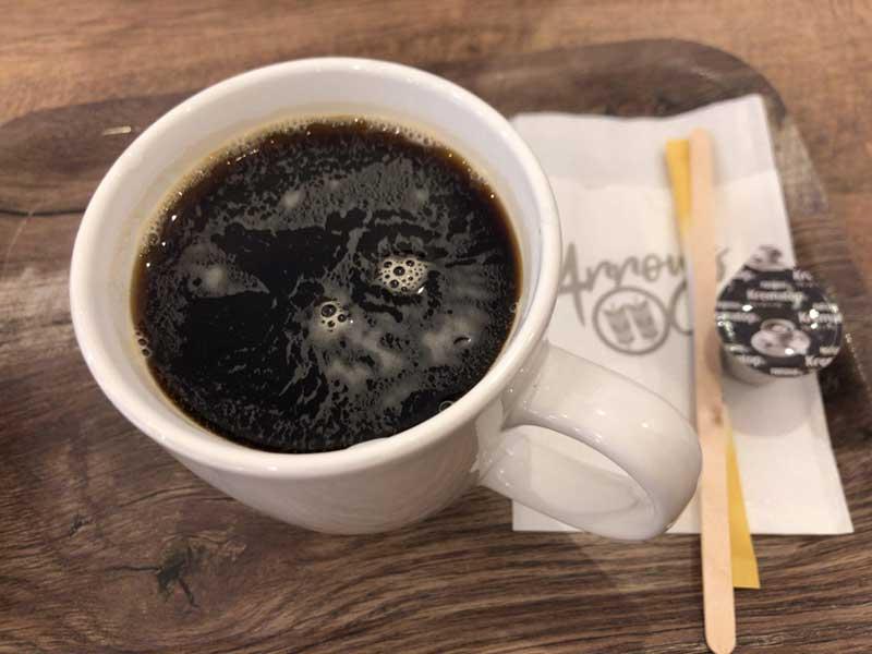 ArrowsCafeの水出しコーヒー