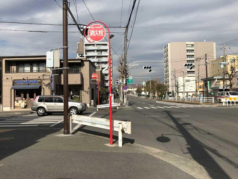 ゾロの場所は平塚駅西口から徒歩10