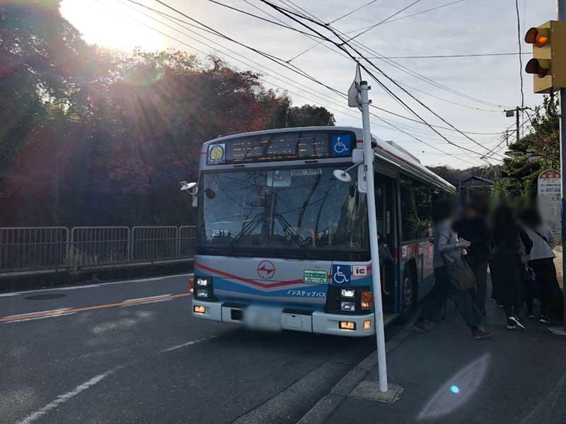 鎌倉中心地からバスで10分