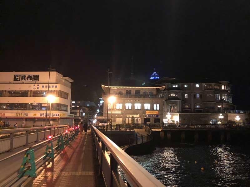 2月中旬の江ノ島