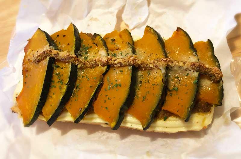nicoの絶品なかぼちゃカレーパン