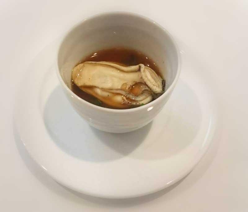 ぷりぷり牡蠣のスープ