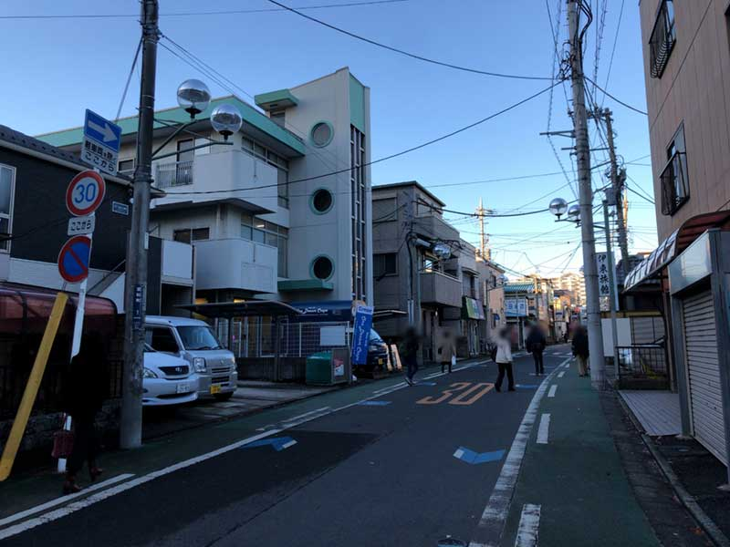 平塚駅北口から10分の商店街
