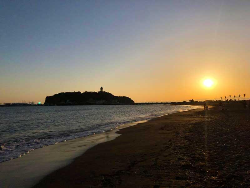 湘南福猫から江ノ島の海まで歩いてすぐ