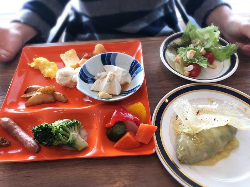 野菜たっぷりの和洋ビュッフェ