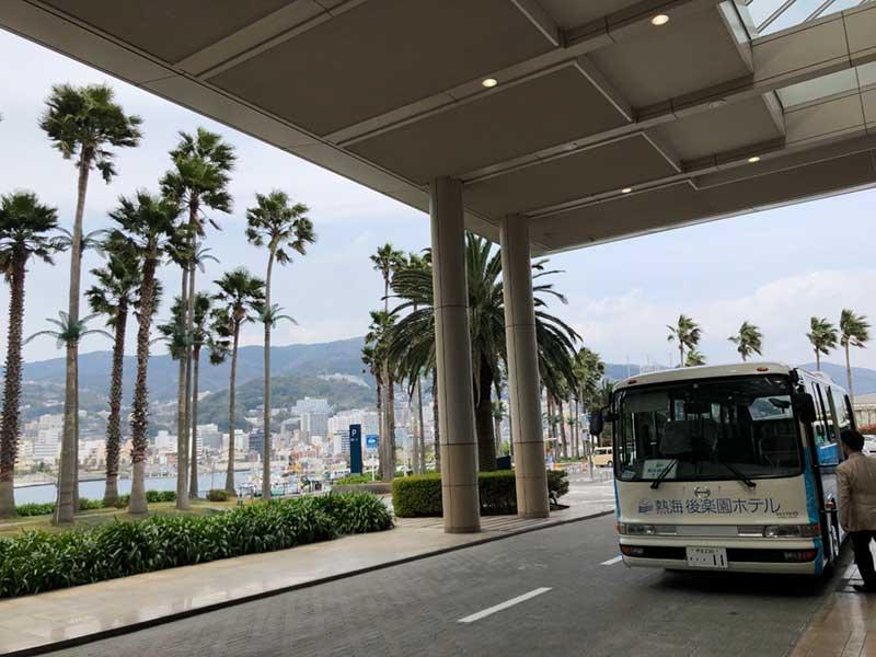 後楽園ホテルリゾートに到着