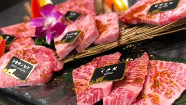 【湘南GATEおすすめグルメ・焼肉牛兵衛】炙り肉寿司が人気!オープン記念2000円割引の山形牛希少6種盛りがかなりお得!