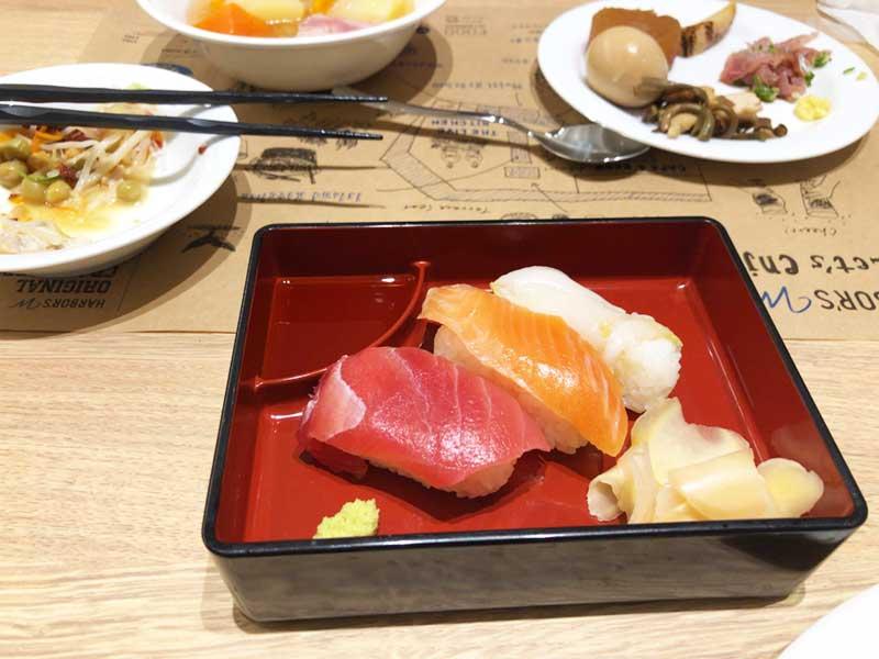 お寿司で〆るのもアリです