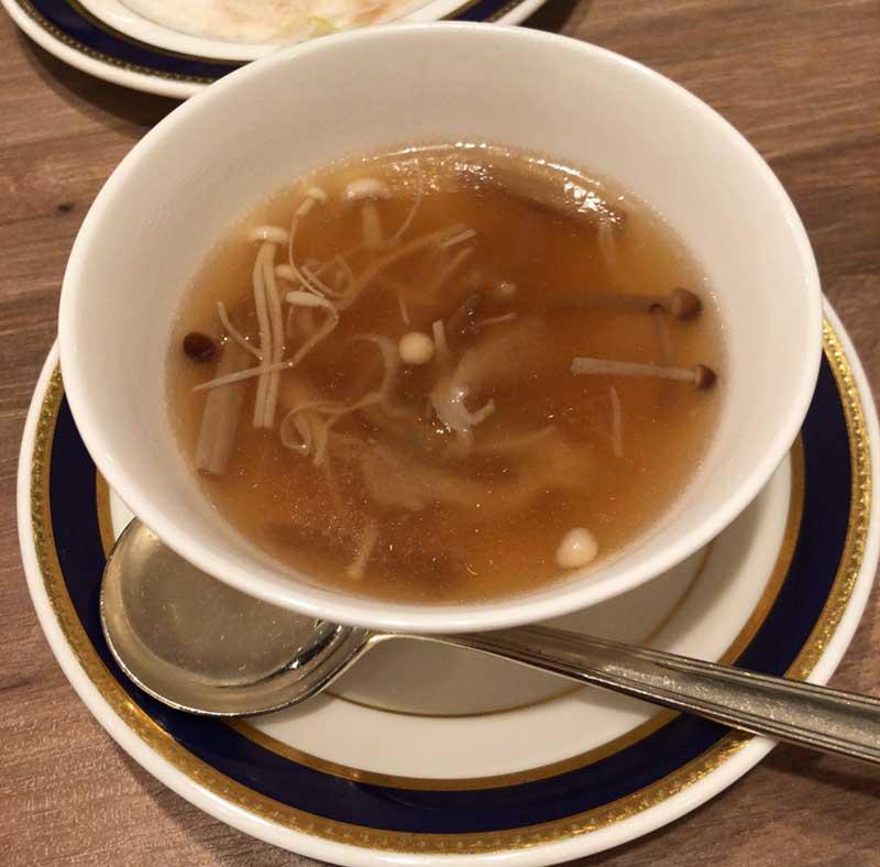 ふかひれスープも堪能