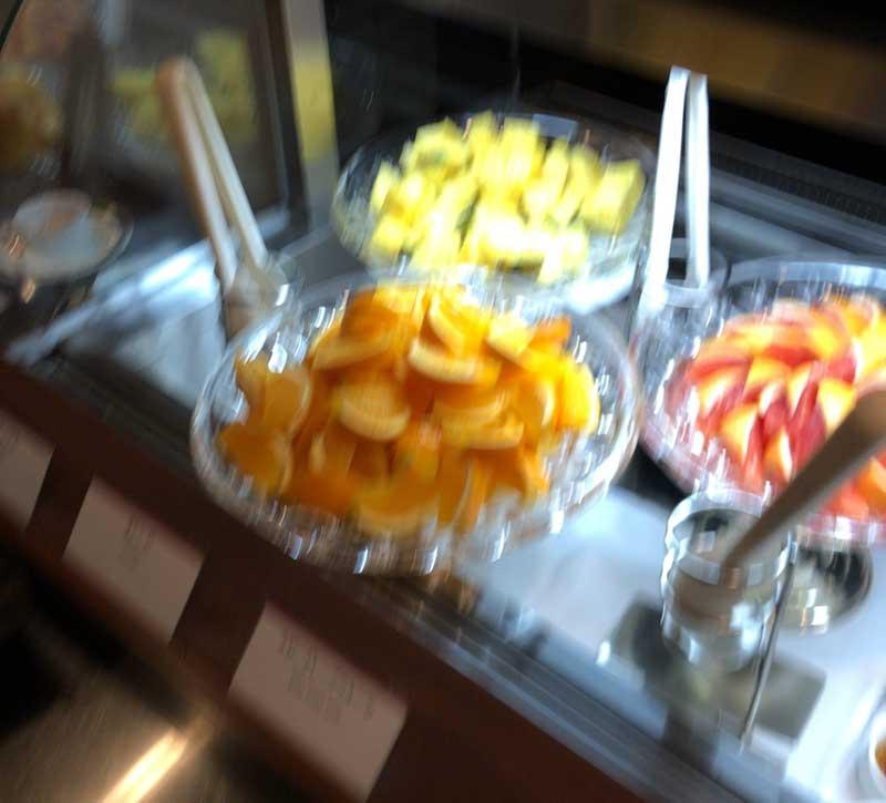 フルーツたっぷり