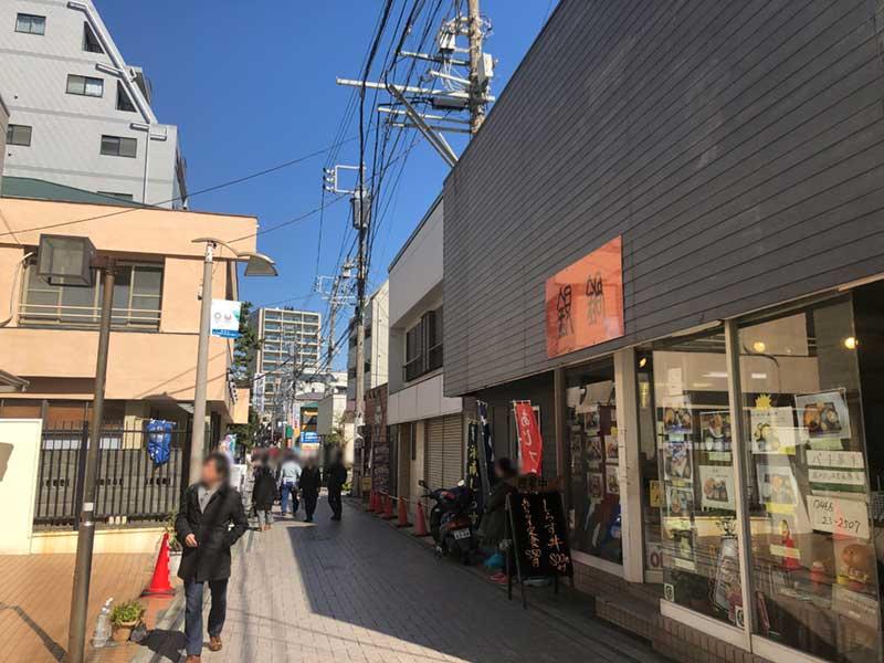 江ノ島観光の玄関口スバナ通り