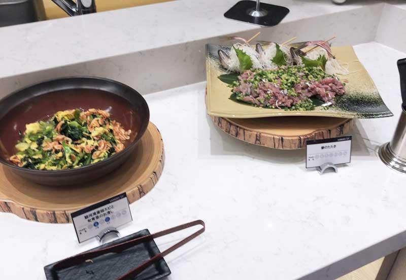 地元静岡の魚介類もたっぷり