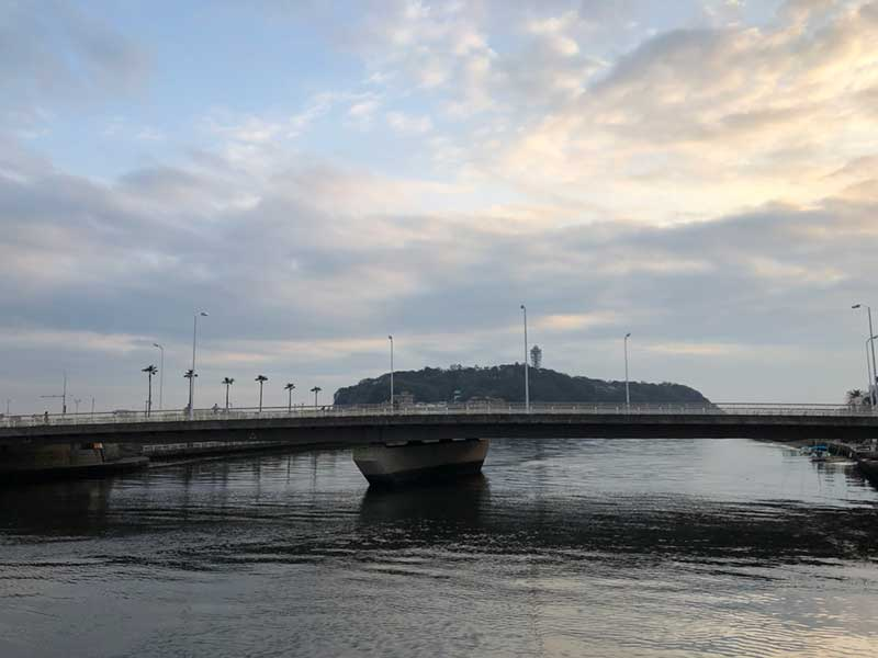 江ノ島はいつみても綺麗だ
