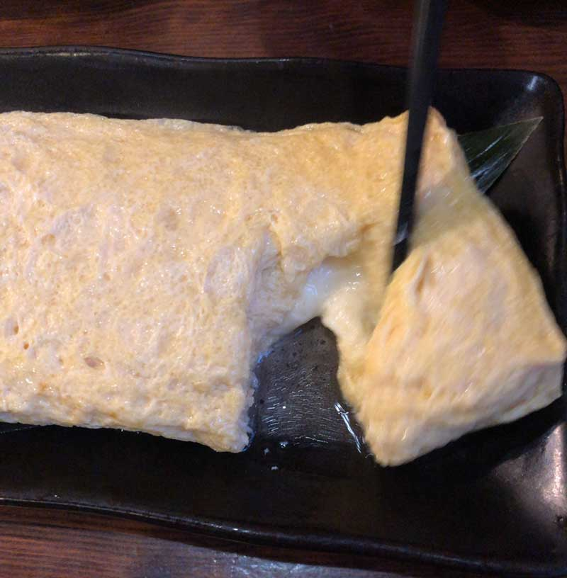 チーズ入り玉子焼き