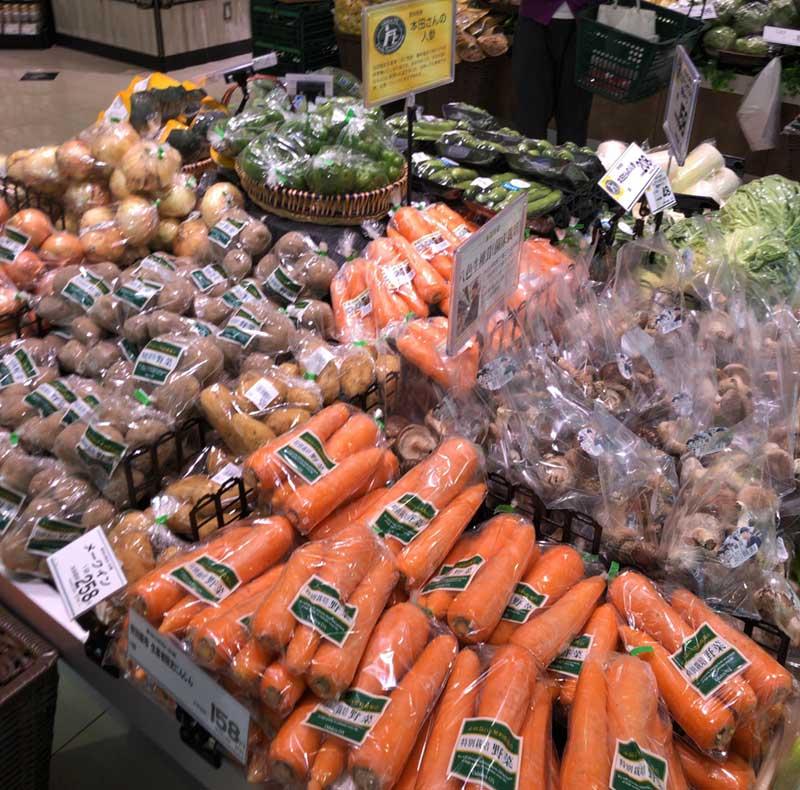 日常野菜は安価です