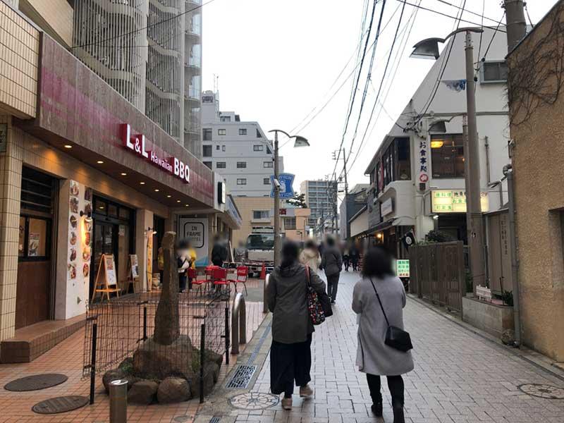 江ノ島観光のメインストリート
