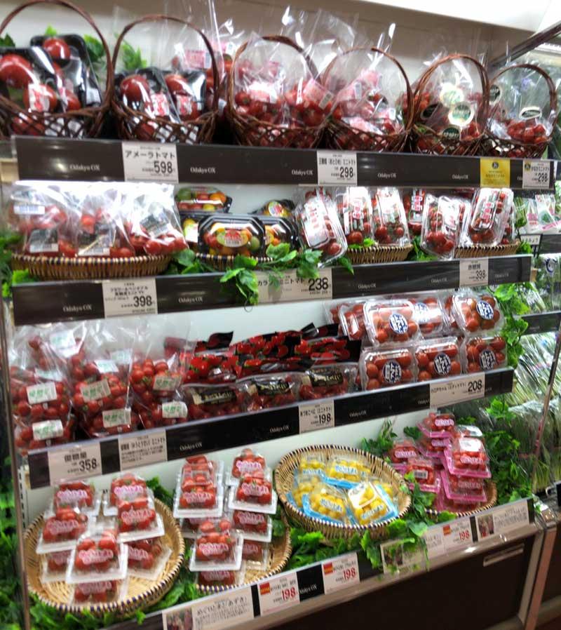 トマトの種類がこんなにいっぱい