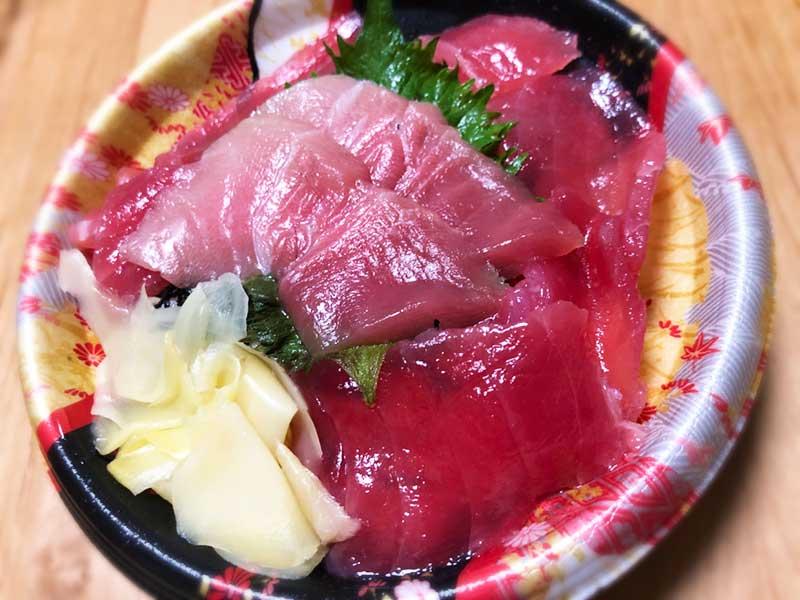本マグロの鉄火丼は580円!