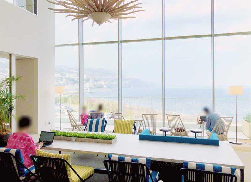 【熱海Fuuaでノマド・開発合宿・オフサイトミーティング】電源にWifiに種類豊富な談話スペースでコミュニケーション活性!