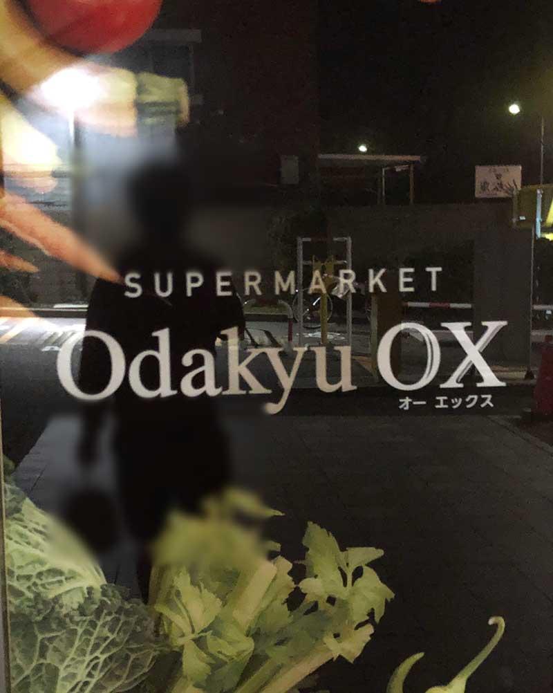 高級感ある小田急OXの入口