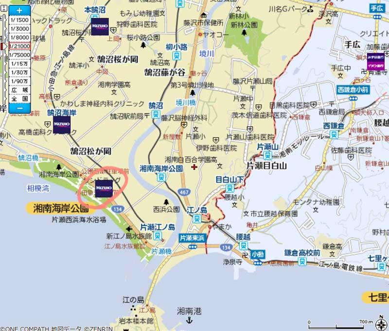 みずほ銀行ATM小田急OX江ノ島店