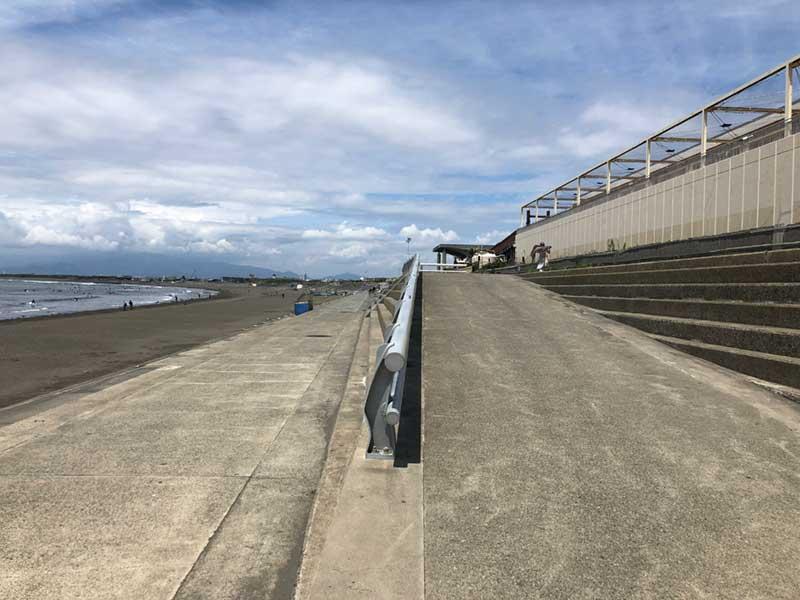 新江ノ島水族館の端っこがスタート地点