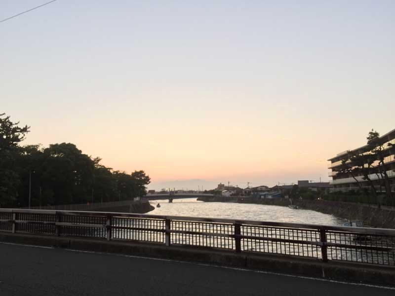 江ノ島近くなのに静かないい場所なんです
