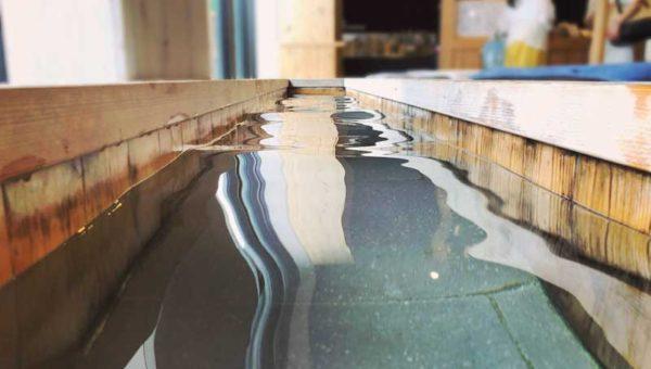 【鎌倉小町通り新パワースポット!お清め足湯「座KURA」カフェ】いい湯といい眺望でほっこり開運!