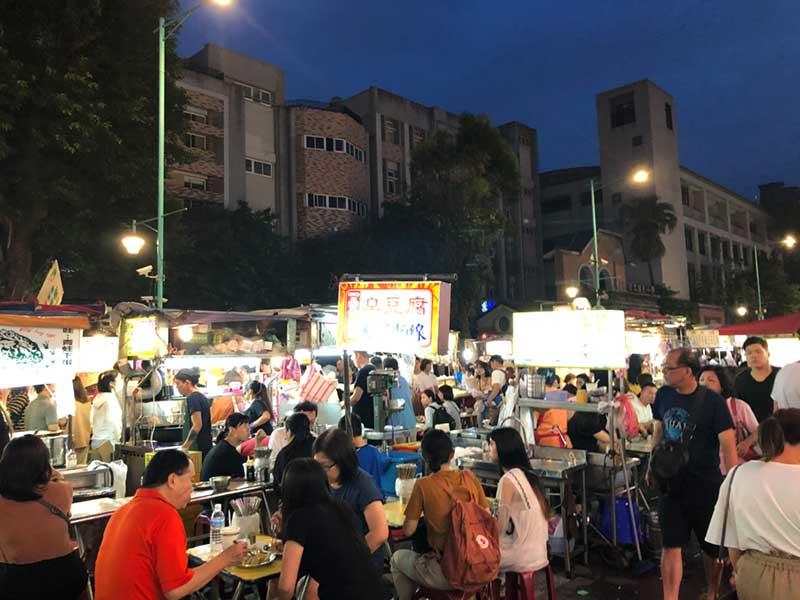つい先日訪れた台湾の夜市