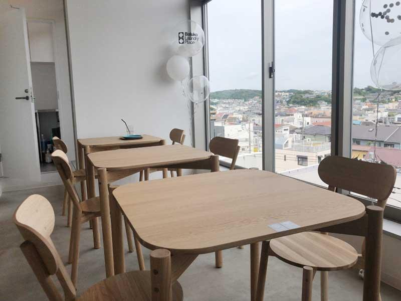 眺めが最高のカフェ席
