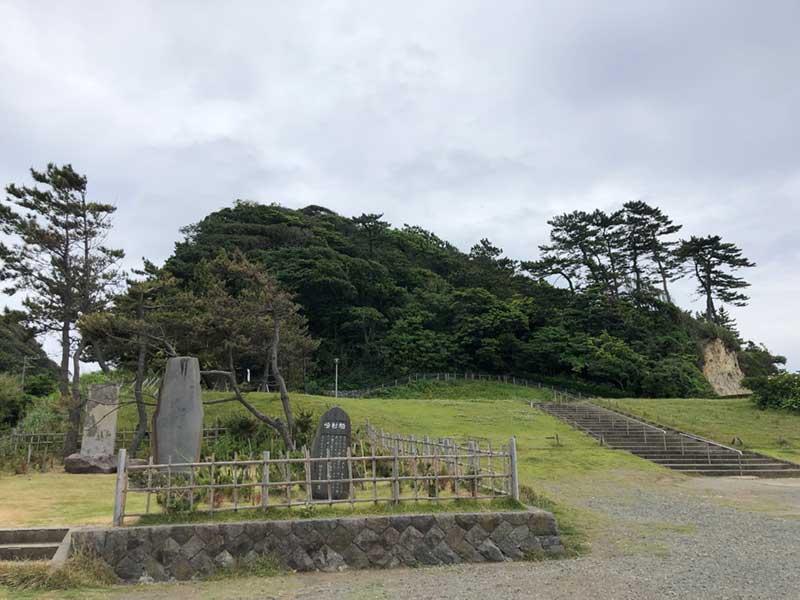 2019年6月上旬の稲村ヶ崎海浜公園