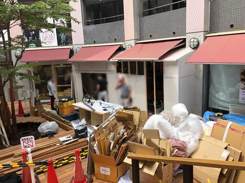i-ZA鎌倉の中庭スペースにオープン