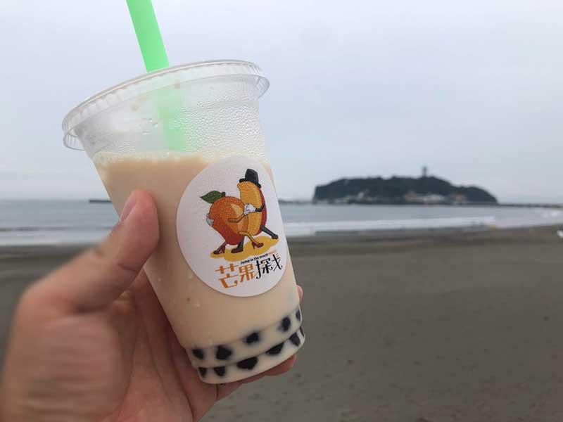 江ノ島とタピオカ