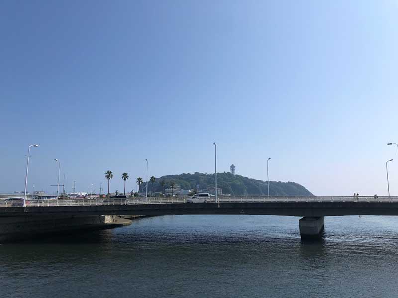 真夏の江ノ島
