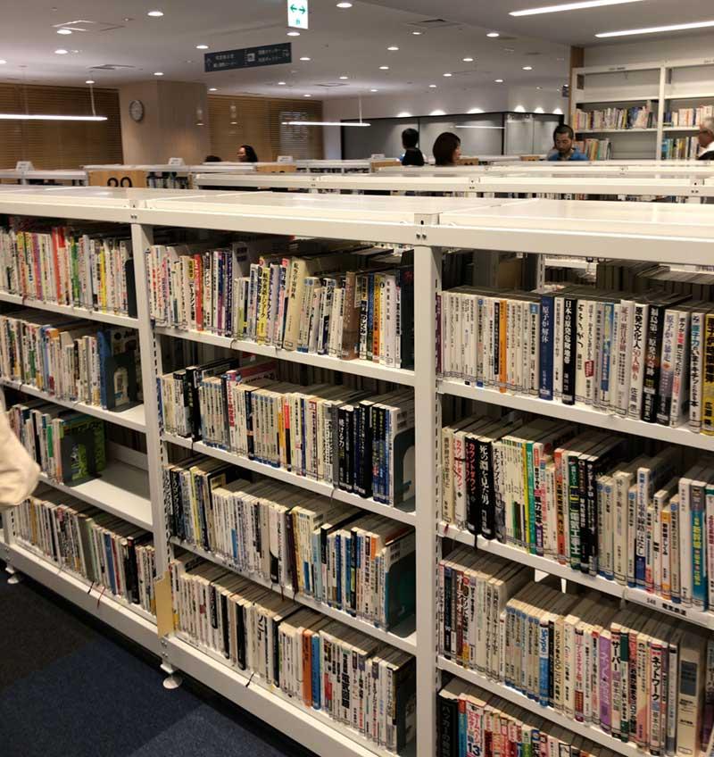 蔵書はまあ普通か
