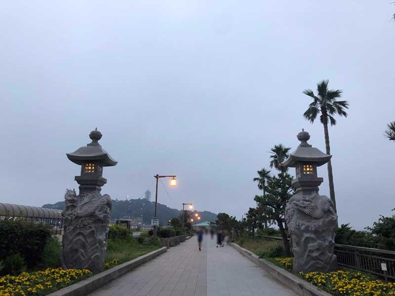 この先が江ノ島