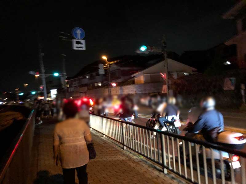 稲村ケ崎からの帰り道
