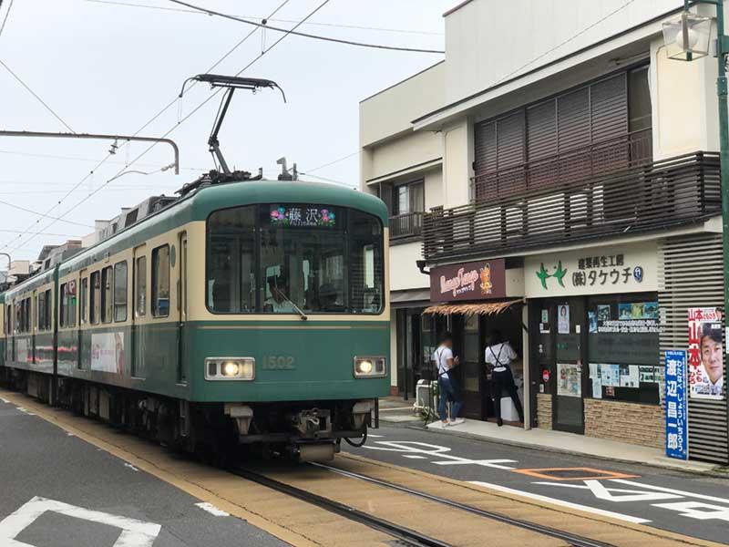 江ノ電とMangoTangoの店舗