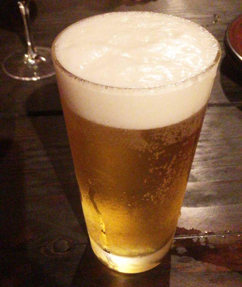 ガリポテとビールが最高