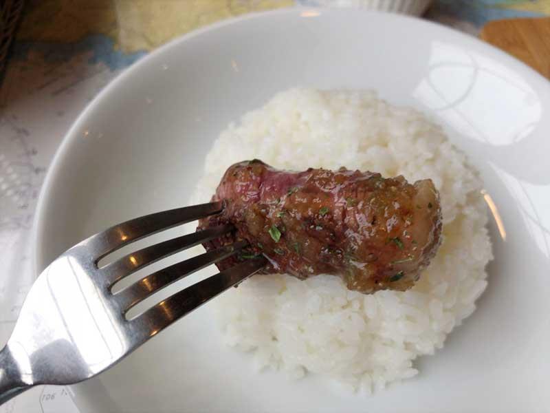 ごはんによく合うお肉