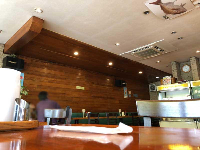 喫茶店のような落ち着ける空間