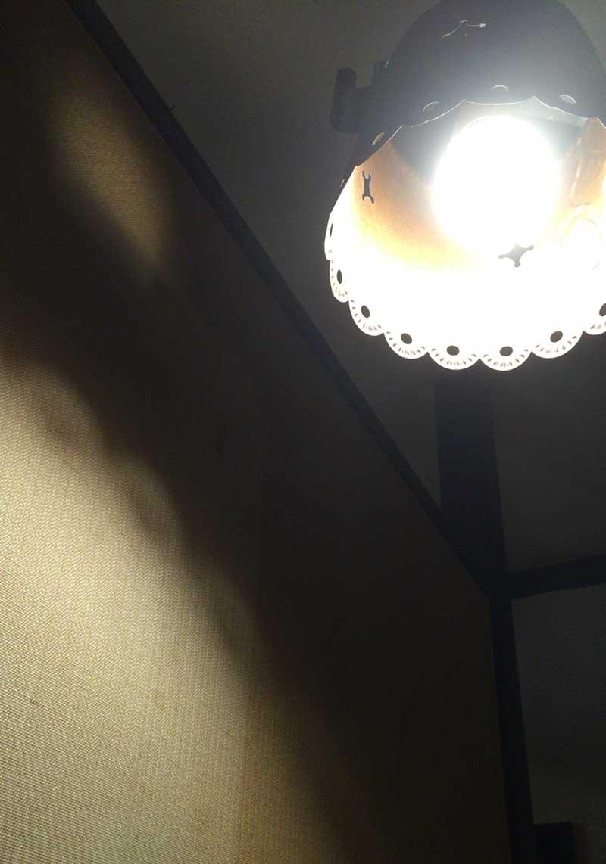 暗めの照明もいい感じ