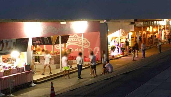 【2019年7月江ノ島海の家】夜は何時まで営業している?若者が多い西浜の夜はどんな感じ?