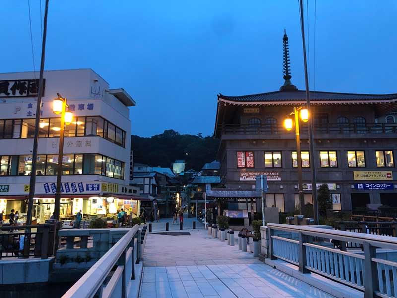 江ノ島に到着