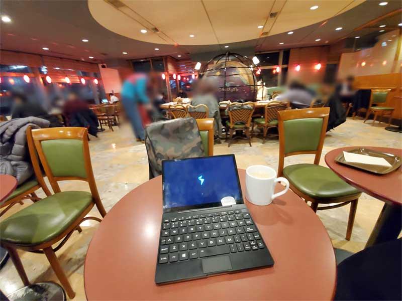 藤沢エリアで最強のノマドカフェですが電源がない