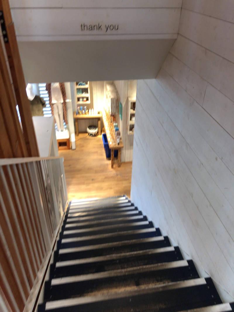 ショップとは1階でつながっています