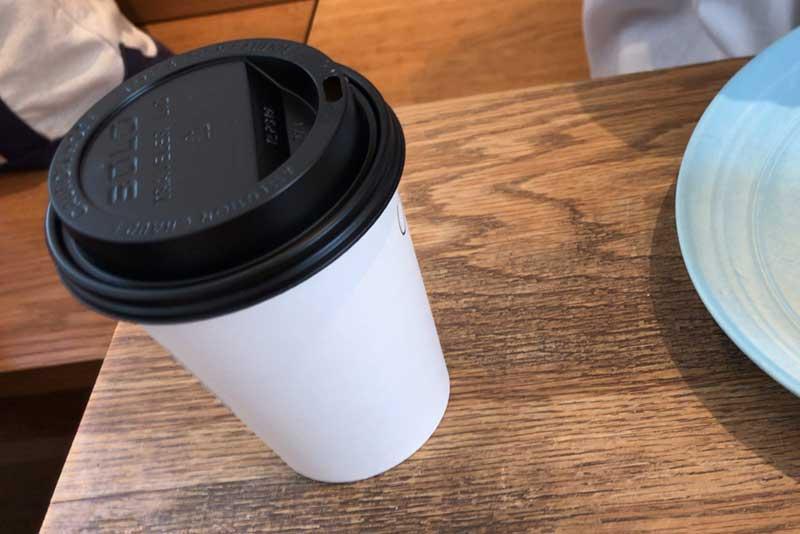普通の味のコーヒー