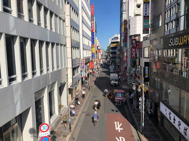 藤沢駅南口のOKストアー通り