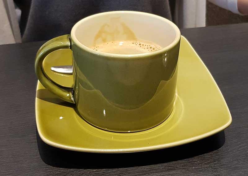 コーヒーを飲んでまったりと